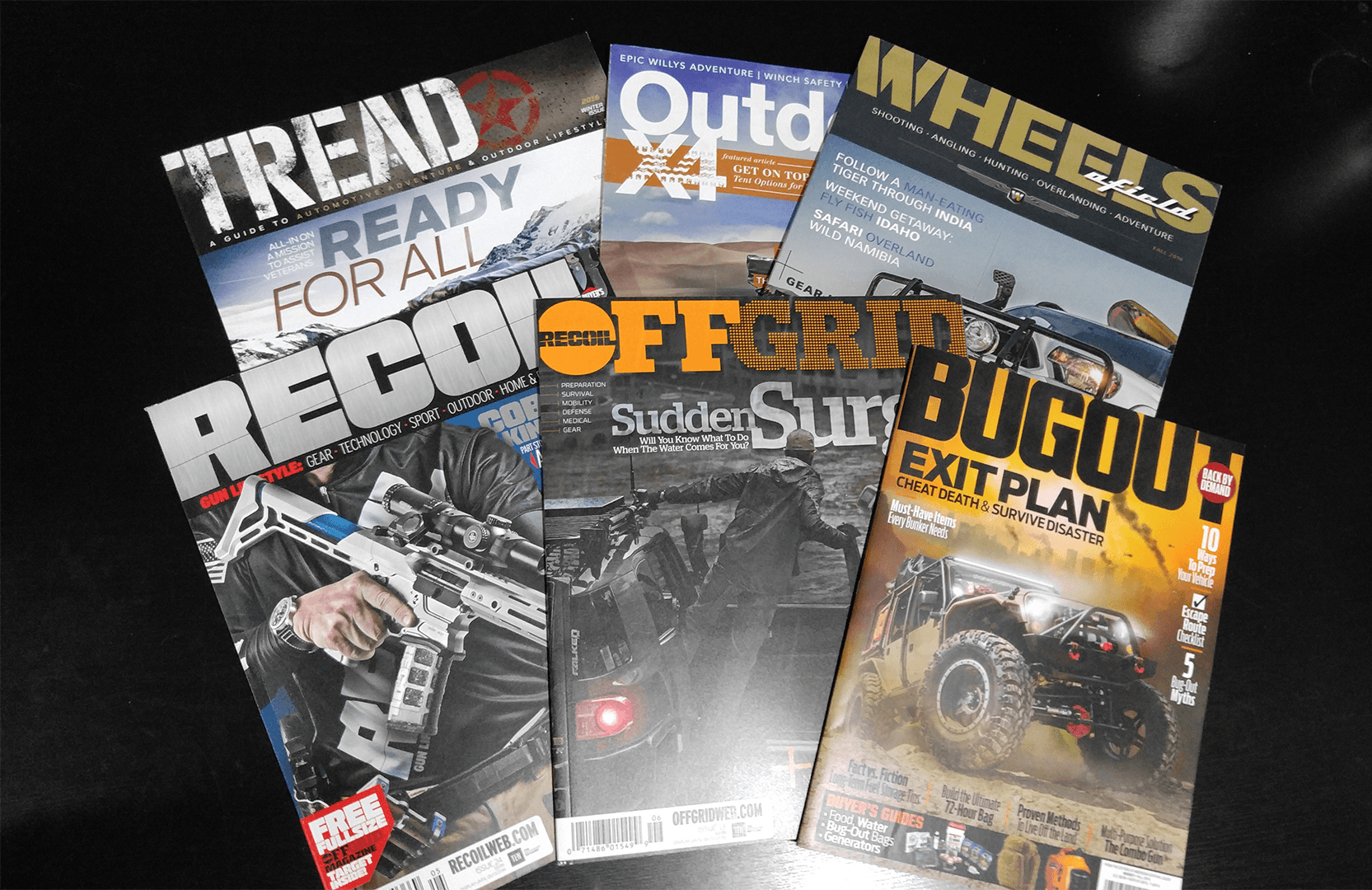 overlanding related magazines