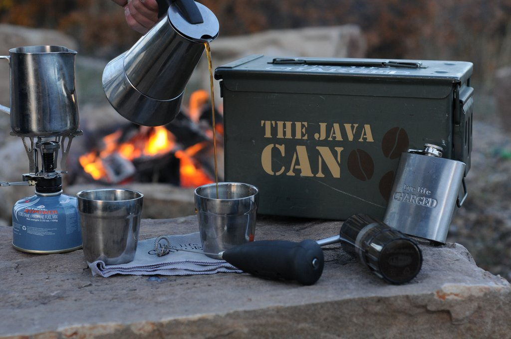 the java can espresso maker