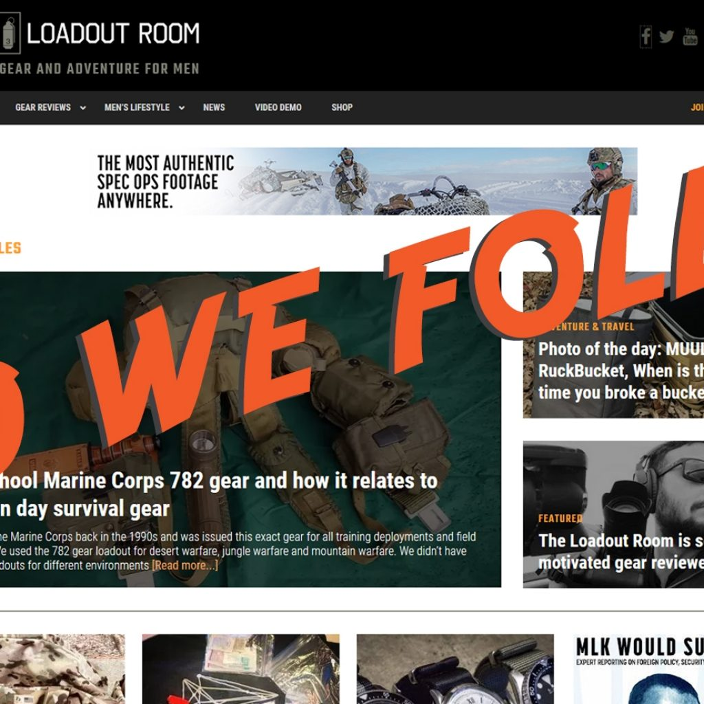Who We Follow: The Loadout Room